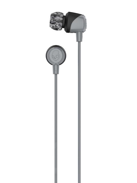 Skullcandy Black & Grey Jib Wired In-Ear Earphones S2DUJZ-522