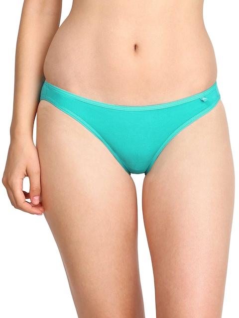 Jockey Women Turquoise Blue Bikini Briefs SS02-0105