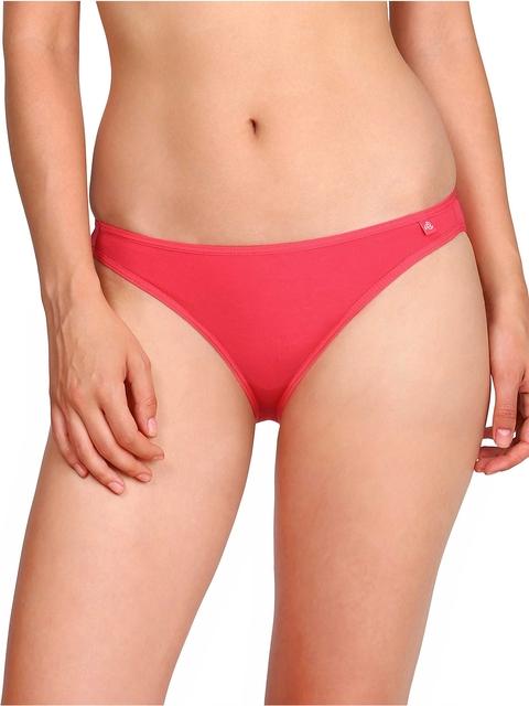 Jockey Women Pink Low-Rise Bikini SS04-0105