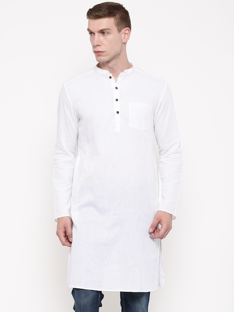 indus route by Pantaloons Off-White Kurta