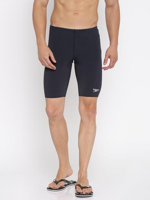 Speedo Men Navy Solid Swim Shorts 8007227780