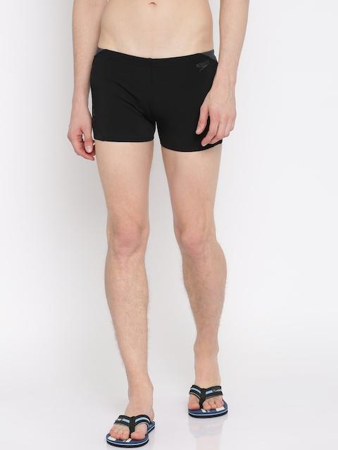 Speedo Men Black Printed Swim Shorts 810855B443