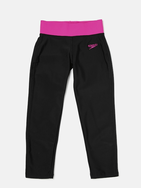 Speedo Girls Black Swim Capris 8PSG03B344