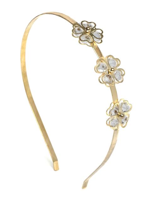 ToniQ Gold-Toned Embellished Hairband