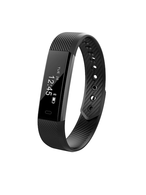 ENHANCE Unisex Black Fitness Band ID 115