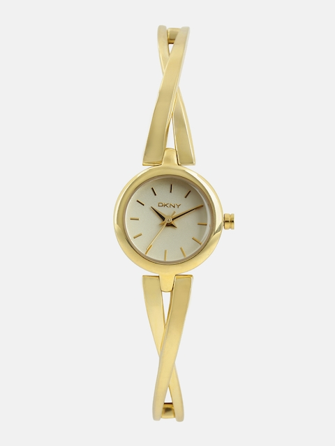 DKNY Women Gold-Toned Analogue Watch NY2170