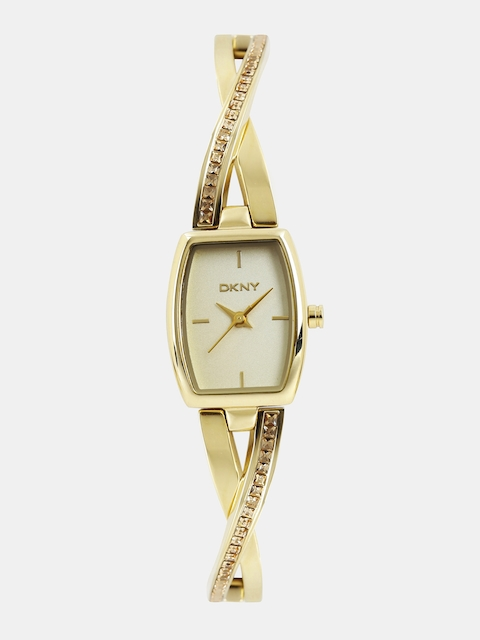DKNY Women Gold-Toned Analogue Watch NY2237