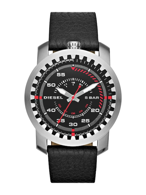 DIESEL Men Black Analogue Watch DZ1750I
