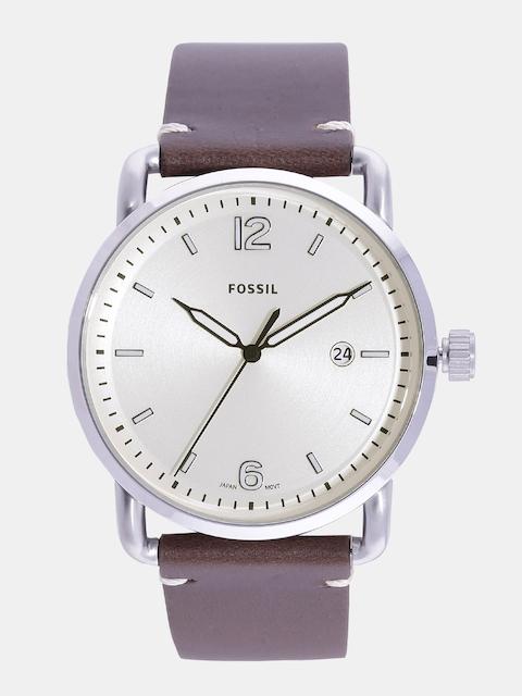Fossil FS5275I Off- White Dial Analog Men's Watch (FS5275I Off-)