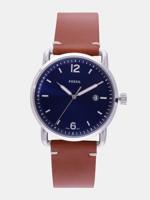 Fossil FS5325I The Commuter Blue Analog Men's Watch (FS5325I)
