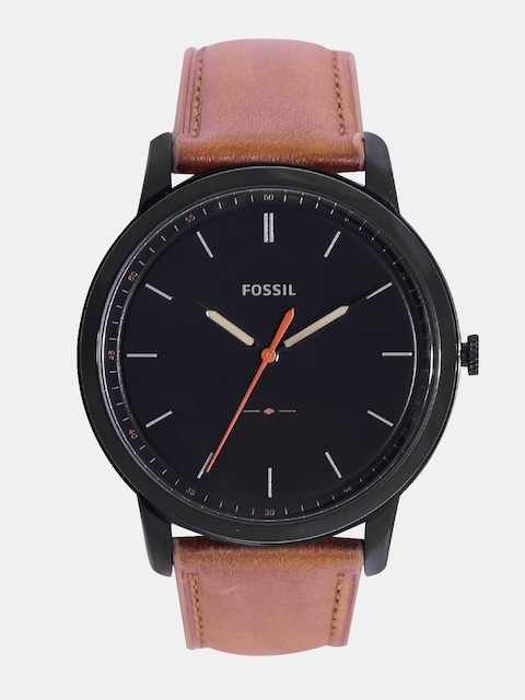Fossil Men Black Analogue Watch FS5305I