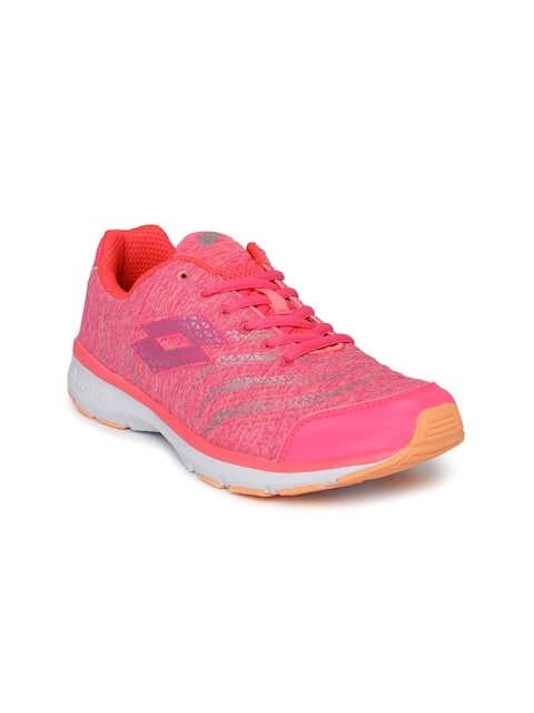 Lotto Women Pink Wave II AMF Running Shoes