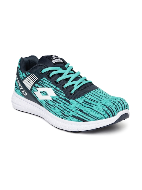 Lotto Men Blue Lite Knit Running Shoes