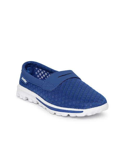 Lotto Women Blue Neo Slipon II Walking Shoes