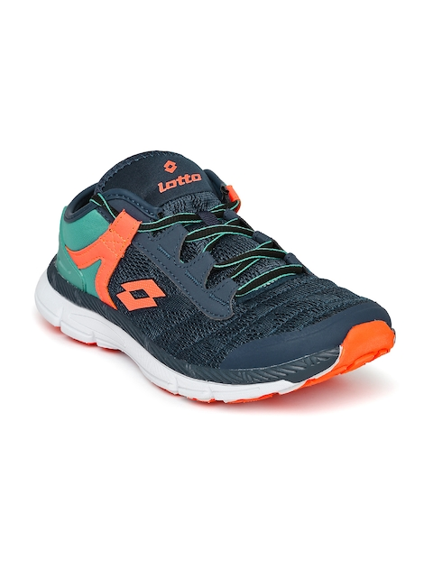 Lotto Men Navy Blue Flavio Running Shoes