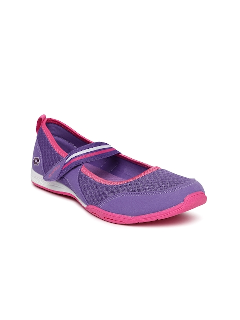 Lotto Women Purple Belle Slip-On Sneakers