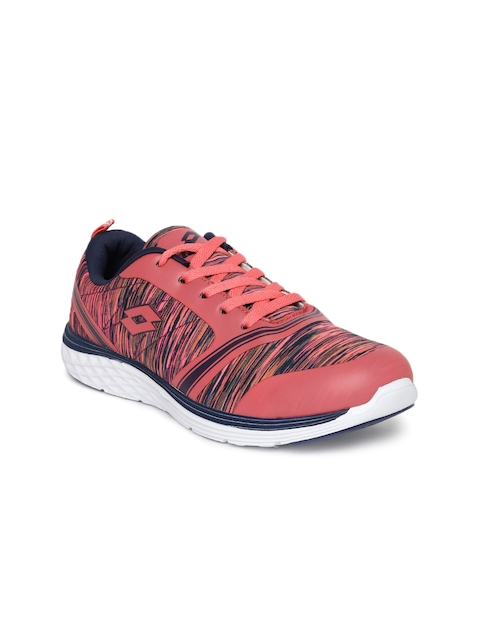 Lotto Women Pink Printed Vito Running Shoes