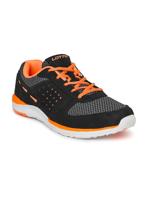 Lotto Men Black Lorenzo Running Shoes