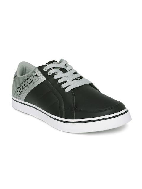 Lotto Men Black Capri Twin Sneakers