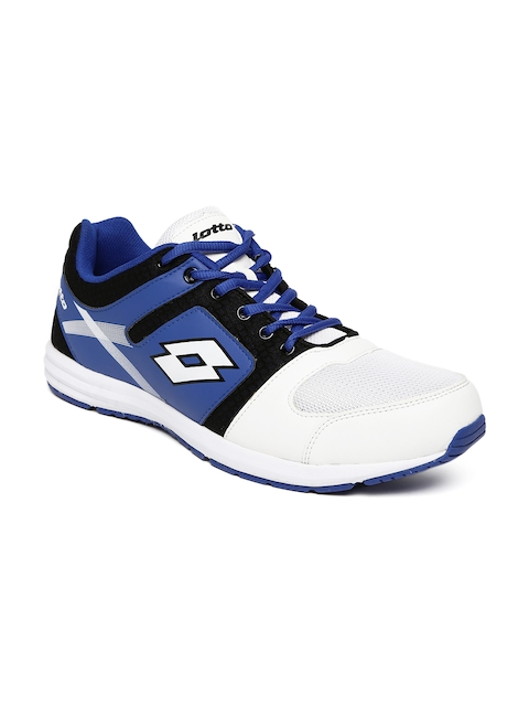 Lotto Men White & Blue Corsa Running Shoes
