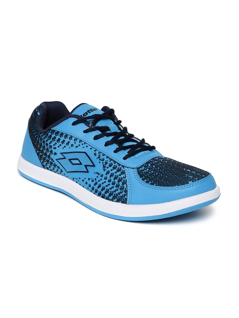 Lotto Men Blue Pitlane Running Shoes