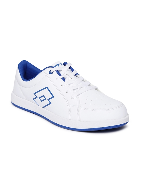 Lotto Women White Logo Plus W Sneakers