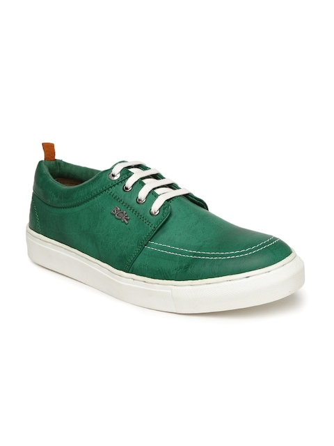 Buckaroo Men Green Sneakers