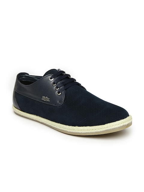 Buckaroo Men Navy Blue Sanchez Sneakers