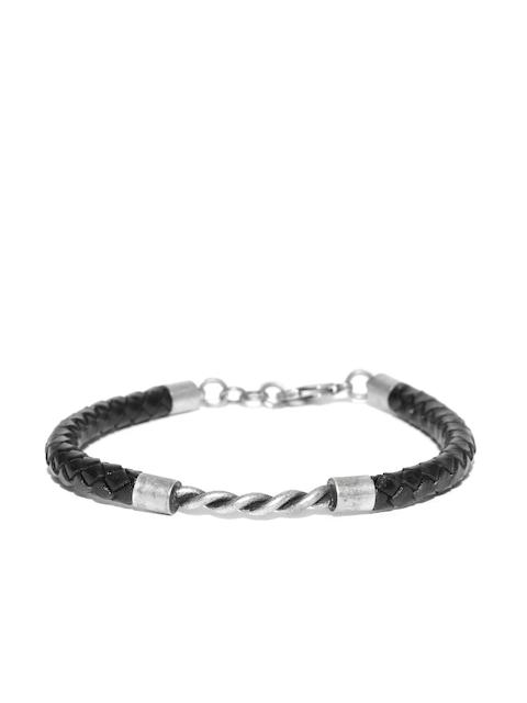 Being Human Black Braided Bracelet