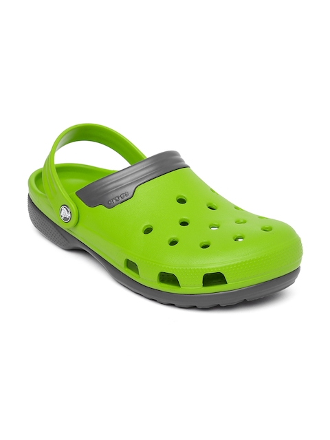 Crocs Unisex Green Clogs
