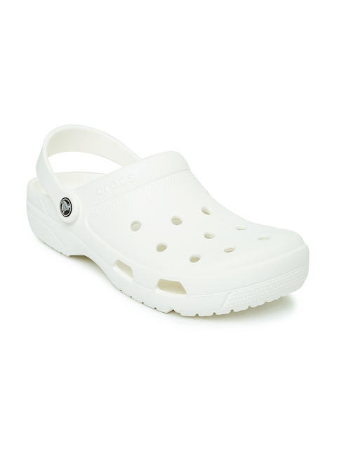 Crocs Unisex White Clogs