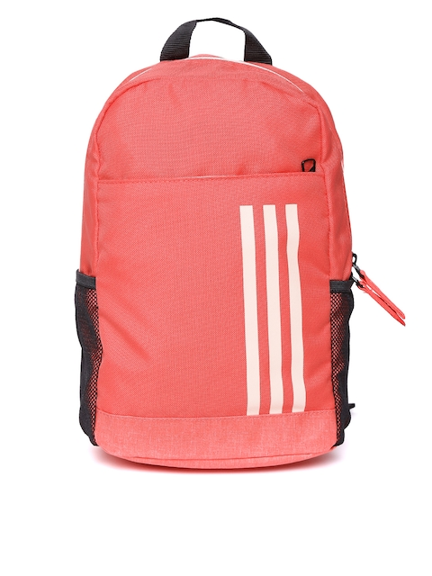 Adidas Unisex Pink CL 3S Solid Backpack  available at myntra for Rs.719
