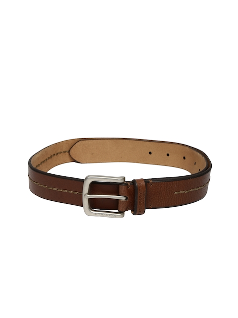 U.S. Polo Assn. Men Brown Solid Belt