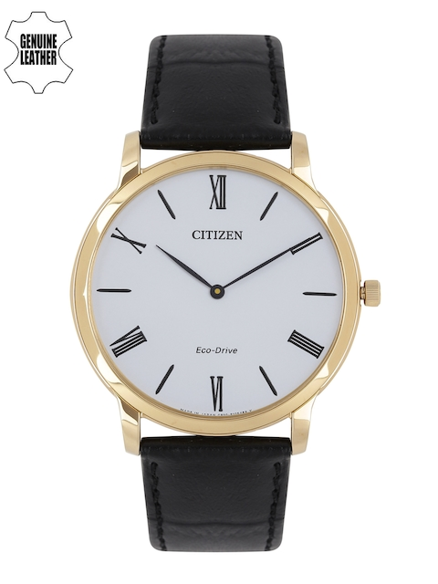 Citizen Men White Analogue Watch AR1113-12B