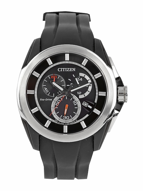 Citizen Men Black Analogue Watch AT0831-04E