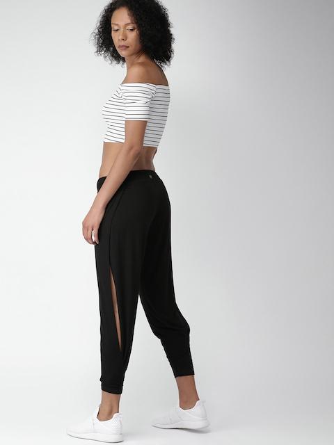 FOREVER 21 Black Regular Trousers