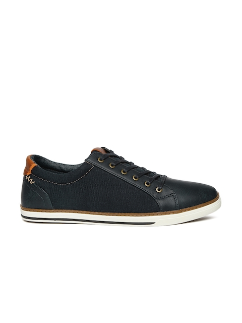 ALDO Men Navy Blue Giling Sneakers