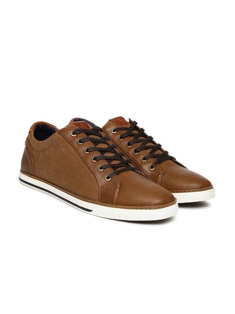 ALDO Men Brown Giling Sneakers