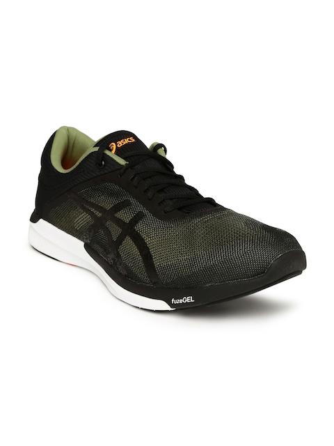 ASICS Men Black fuzeX Rush Running Shoes