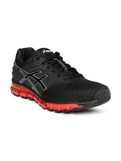 ASICS Men Black GEL-QUANTUM 180 2 Running Shoes