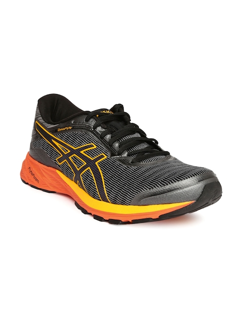 ASICS Men Grey DynaFlyte Running Shoes