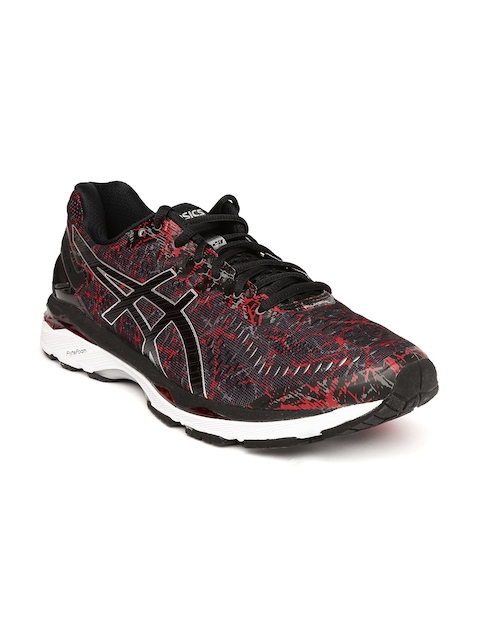 ASICS Men Black GEL-KAYANO 23 Running Shoes  available at myntra for Rs.8099