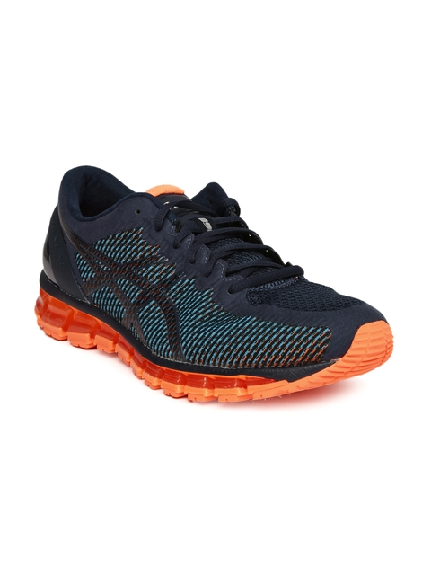 ASICS Men Navy Blue GEL-QUANTUM 360 CM Running Shoes