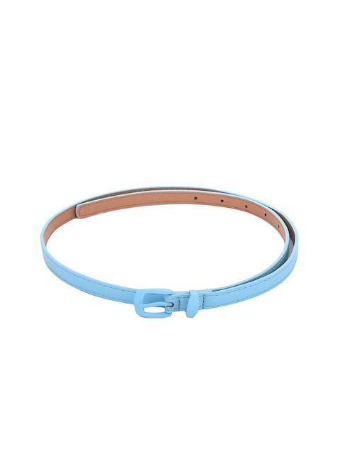 Alvaro Castagnino Women Turquoise Blue Solid Belt