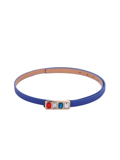 Alvaro Castagnino Women Blue Solid Belt