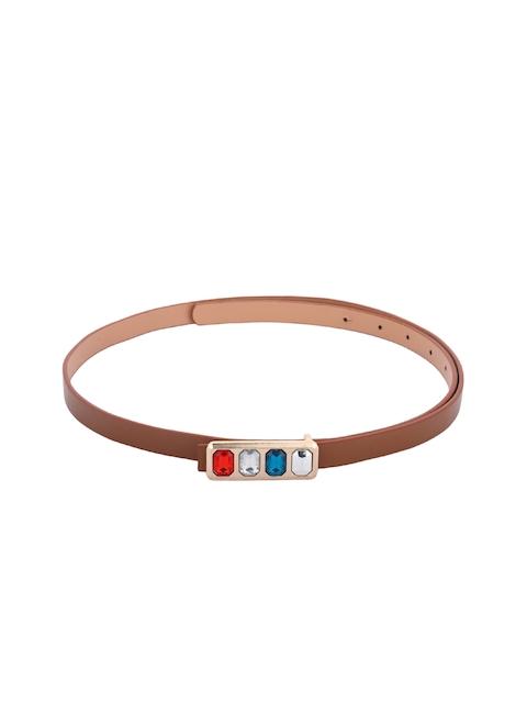 Alvaro Castagnino Women Brown Solid Belt