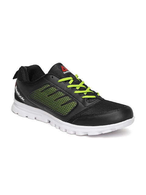 Reebok Men Black Stormer Running Shoes