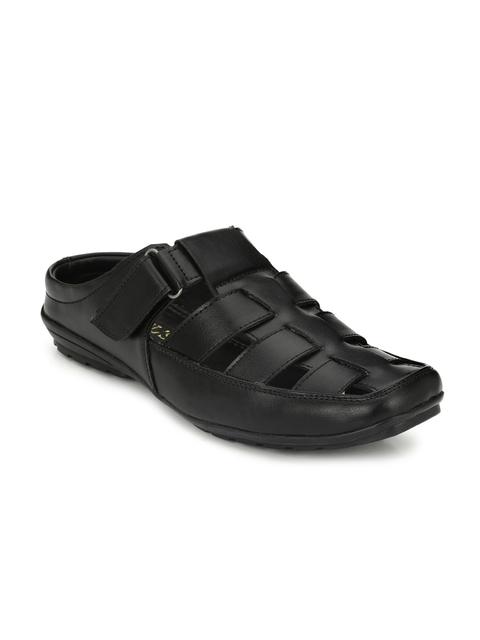 Hi RELs Men Black Sandals