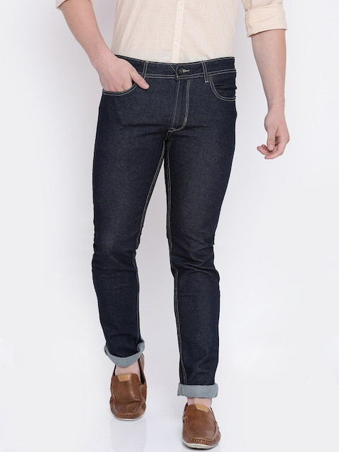 Peter England Casuals Men Blue Slim Fit Stretchable Jeans
