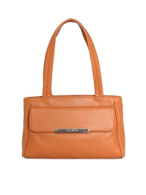 Caprese Tan Brown Shoulder Bag
